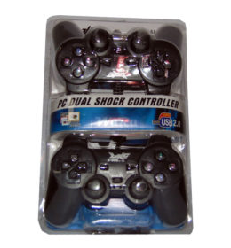 K-One Double Hitam Gamepad