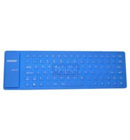 Flexible Mini USB Tabung Keyboard